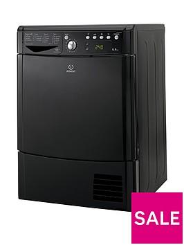 indesit-ecotime-idce8450bkh-8kg-load-condenser-sensor-dryer-black