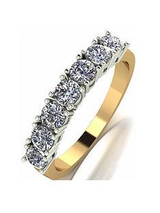 moissanite-9-carat-yellow-gold-1-carat-7-stone-eternity-ring