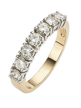 moissanite-9-carat-yellow-gold-1-carat-7-stone-eternity-ring