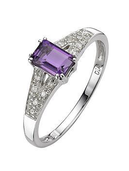 love-gem-9-carat-white-gold-6pt-diamond-and-amethyst-ring
