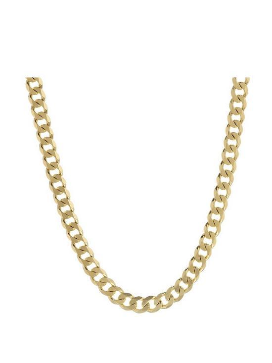 b9c3462eaf9 Love GOLD 9 Carat Yellow Gold Approx 2oz Solid Diamond-Cut 20 inch Curb  Chain