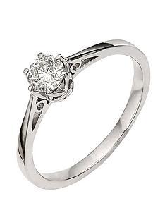 love-diamond-9-carat-white-gold-25pt-diamond-solitaire-ring