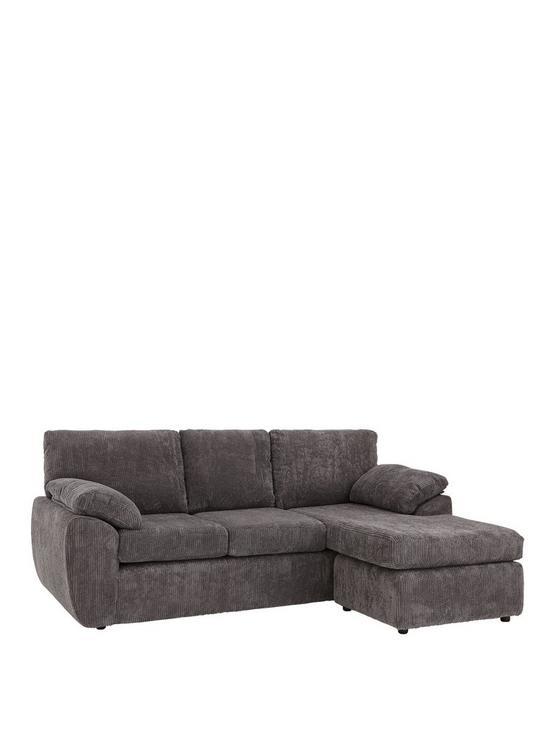 Rebecca 3 Seater Reversible Chaise Sofa
