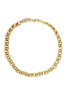 love-gold-9-carat-yellow-gold-double-link-fancy-bracelet