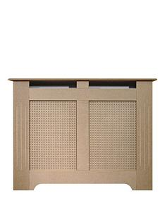 Adam Fire Surrounds 120cm Unfinished MDF Radiator Cover