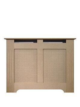 Adam Fires & Fireplaces 120Cm Unfinished Mdf Radiator Cover