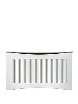 Adam Fires & Fireplaces 160Cm White Satin Radiator Cover