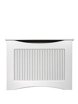 Adam Fires & Fireplaces 120Cm White Satin Radiator Cover