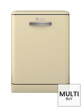 swan-sdw7040cn-12-place-retro-dishwasher-cream