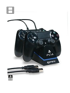 4gamers-officially-licensed-ps4-dual-controller-stand-with-twin-usb-charging-cables