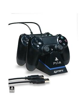 Compare retail prices of 4Gamers Officially Licensed Dual Charge n Stand to get the best deal online