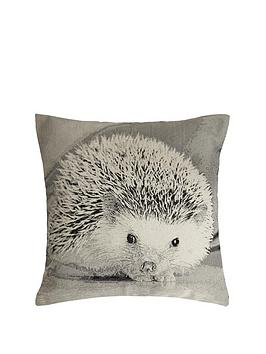hamilton-mcbride-hedgehog-printed-cushion