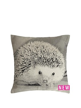 hamilton-mcbride-hedgehog-printed-cushion