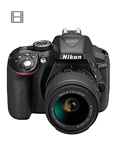 nikon-d5300-242-megapixel-digital-slr-camera-with-18-55mm-lensnbspsave-pound50-with-voucher-code-lxjxd