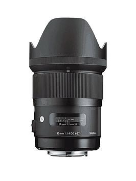 Sigma 35Mm F1.4 Dg A Series Lens - Canon Fit