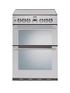stoves-sterling-mininbsp600g-60cmnbspwide-double-oven-gas-range-cooker-with-optional-connection-stainless-steel