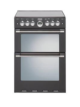 stoves-600g-60cm-double-oven-gas-sterling-mini-range-cooker-with-optional-connection-black