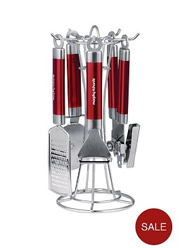 morphy-richards-gadget-set-4-piece-red