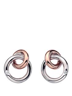 hot-diamonds-eternity-sterling-silver-and-18-carat-gold-vermeil-diamond-set-interlocking-earrings