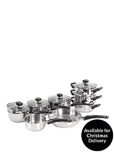 morphy-richards-8-piece-stainless-steel-pan-set