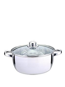 sabichi-essential-24-cm-casserole-with-glass-lid