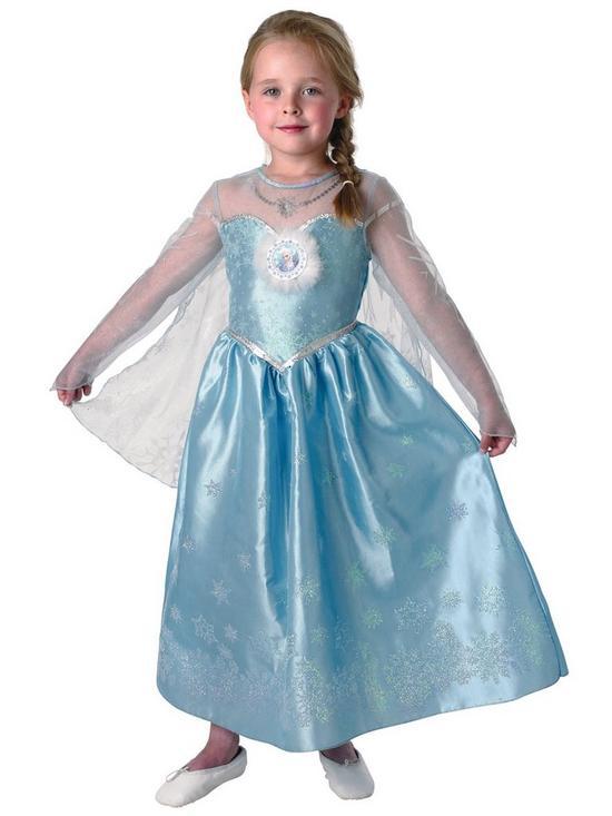 Disney Frozen Girls Deluxe Elsa Snow Queen Kids Fancy Dress Costume | very.co.uk  sc 1 st  Very & Disney Frozen Girls Deluxe Elsa Snow Queen Kids Fancy Dress Costume ...