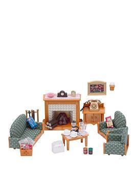 sylvanian families deluxe living room set verycouk. beautiful ideas. Home Design Ideas