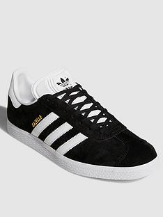 f98a50d6c6d adidas Originals Gazelle OG Trainers - Black White