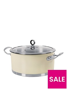 morphy-richards-24cm-casserole-pan-cream