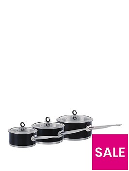 morphy-richards-3-piece-pan-set-black