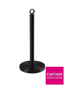 morphy-richards-kitchen-towel-pole-black