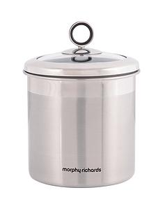 morphy-richards-large-storage-canister-stainless-steel