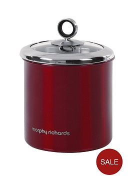 morphy-richards-large-storage-canister-red