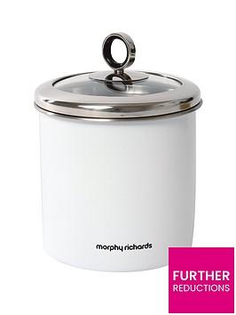 morphy-richards-large-storage-canister-white