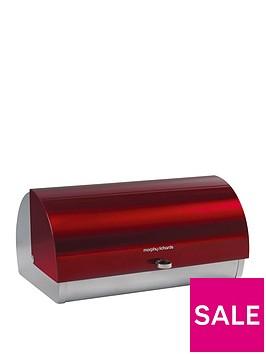 morphy-richards-roll-top-bread-bin-red