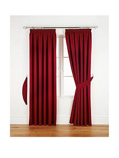 Red Living Room Curtains Blinds Home Garden
