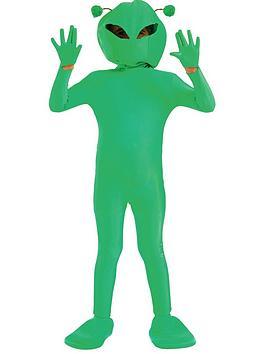 childrens-green-alien-costume