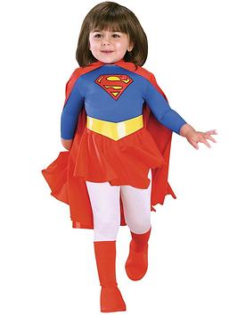 Photo of Girls traditional supergirl - child costume