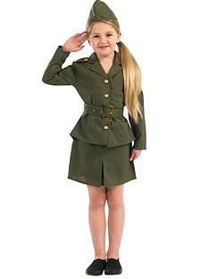 girls-ww2-army-girl-child-costume