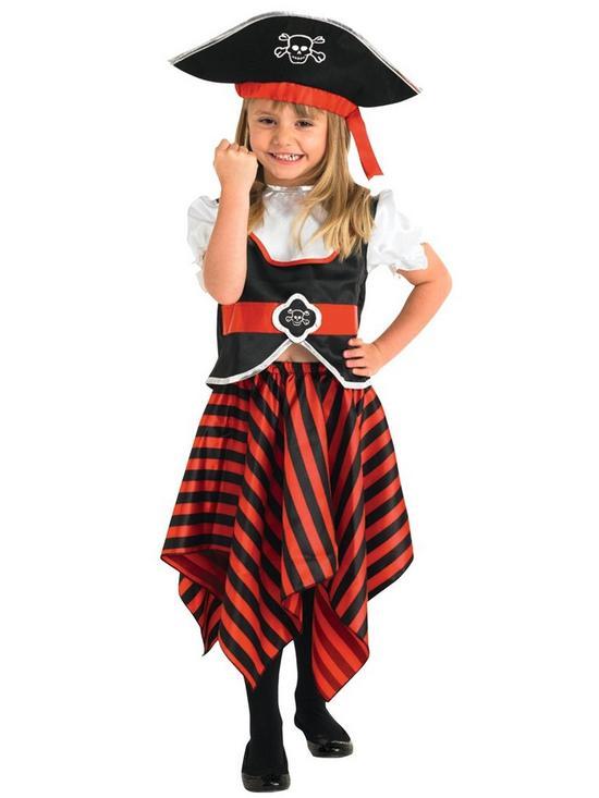 sc 1 st  Very & Pirate Girl - Child Costume | very.co.uk