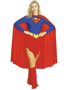 Traditional Supergirl - Adult Costume  sc 1 st  Very & Superhero Characters | Womens | Adult fancy dress costumes | Gifts ...