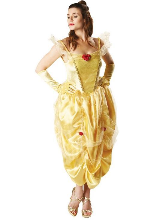 Perfect Disney Princess Disney Ladies Belle   Adult Costume