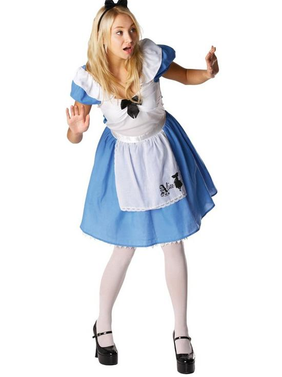 Disney Disney Alice in Wonderland - Adult Costume  sc 1 st  Very & Fancy Dress | Fancy Dress Costumes for Women | Very
