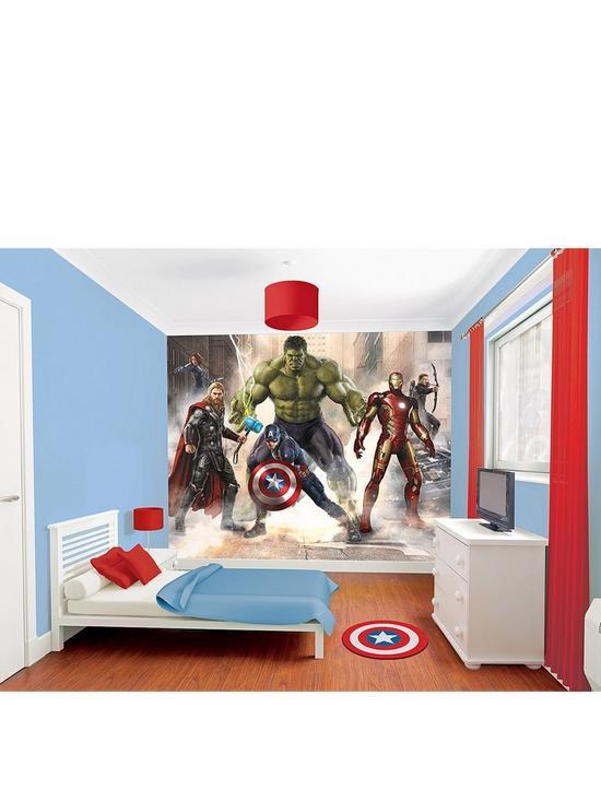 4d456a88763 Walltastic Walltastic Marvel Avengers Assemble Wall Murals | very.co.uk