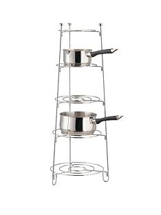 apollo-chrome-5-tier-saucepan-stand