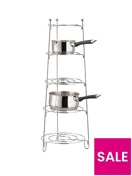 apollo-chrome-5-tier-saucepan-stand