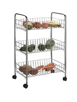 apollo-chrome-3-basket-vegetable-trolley