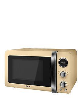 swan-sm22030cn-retro-20-litre-digital-microwave-cream