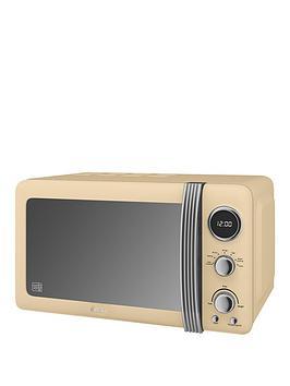 Swan SM22030CN Standard Microwave - Cream