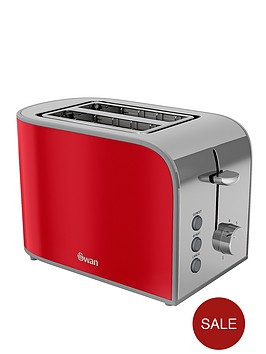 swan-st17020rn-retro-2-slice-toaster-red